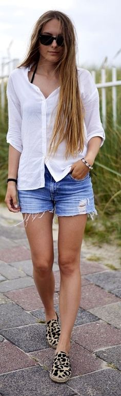 By Anna Leo Espadrilles Outfit Idea