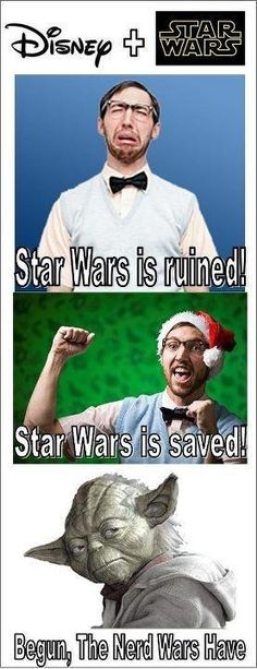 Personally, I couldn't be happier. I thought Episode VII would NEVER happen!