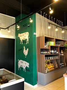 Carnicerias Ideas, Fruit And Veg Shop, Bbq Shop, Meat Box, Meat Store, Farm Store, American Diner, Café Bar, Butcher Shop