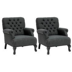 Wholesale Interiors Baxton Studio Chair (Set of 2) - Walmart.com