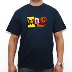 Drum and Bass - Camiseta etiqueta blanca Russell ZT150