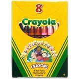 Amazon.com: Binney & Smith Crayola(R) Multicultural Large Crayons, Assorted Specialty Colors, Box Of 8: Toys & Games