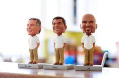 Cute Groomsmen Gifts: Bobble Heads