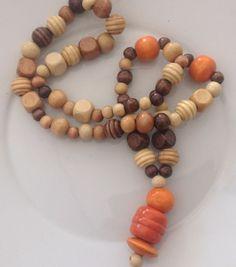DIY COLLANA IN LEGNO Creative ideas WOOD STYLE (wood necklace)   GESSETTI PROFUMATI - SPIGNATTO FACILE e altri hobbies by AVA   Bloglovin'