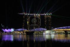 Marina Bay Sands, Singapore Archivio Fotografico