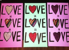 LOVE is LOVE is LOVE Original Paintings  by twiggyoriginals Custom order yours today twiggy@twiggyoriginals.com $50+ . **©2016 Twiggy™ Originals. All images in the Twiggy Originals Group are copyright 2016. Twiggy is a registered trademark. Respect your fellow artists - no reproduction is allowed.** Registered Trademark, Twiggy, Respect, Original Paintings, Artists, Group, Love, The Originals, Unique Jewelry