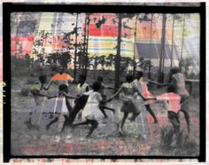 CHILDREN PLAYING EADONTON, TEXAS -- THE PATCHWORK OF HISTORY-- AT THE GADSDEN, CHARLESTON, SC NOVEMBER 2012 www.bankspappas.com