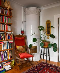 Decorating with plants.
