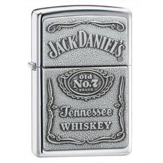 Personalized Zippo Jack Daniels High Polish Lighter | Personalized Gifts