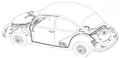 Agouti Paca likewise Vw Baja Front Suspension Kits additionally Technical Illustrator furthermore 1963 Vw Wiring Diagram moreover 68 Volkswagen Beetle Parts. on best vw bug wiring harness