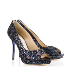 The Jimmy Choo LUNA peep toe pump