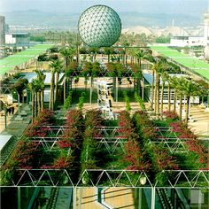 Esfera bioclimática, Expo 92 Sevilla