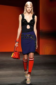 Prada Spring 2014 RTW - Runway Photos - Fashion Week - Runway, Fashion Shows and Collections - Vogue