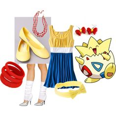 Togepi (Pokemon) Inspired Outfit