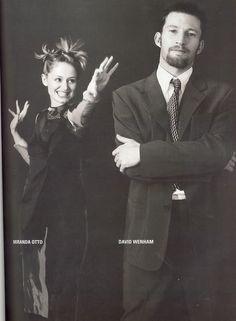 Miranda Otto and David Wenham. Love this pic!