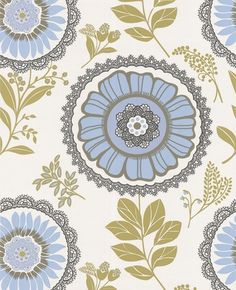 Amy Butler Wallpaper- I just ordered a roll of this :-)