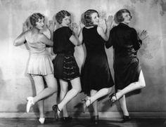 Love those Marcel waves!  Chorus line girls, c 1927