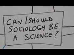Sociology and science - YouTube