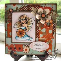 Sending you a little smile :): TGF Summer Fairy and Dutch Crazy Meiden club