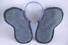 "Elephant Ears Headband. $10.00, via Etsy. Maybe make in pink for ""Pink Elephant on Parade"" Disneyland Half costume?"