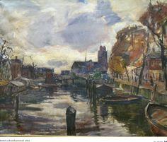 Nieuwe Haven en Grote Kerk, Otto Scheinhammer (Mak-veiling april 2014)