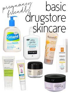 Pregnancy Safe Drugstore #Skincare Products via @15MinBeauty