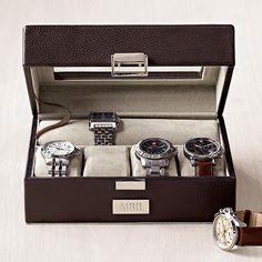Leather watch case $49.95 #watch #watch_case