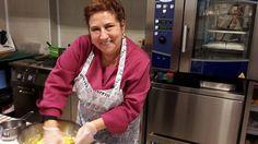 La nostra mitica cuoca Cristina Pescio alle presse con un impasto gnamm <3 <3