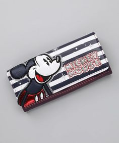 Take a look at this Black & White Mickey Mouse Wallet	 by Loungefly on #zulily today!