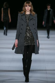 Saint Laurent | Fall 2014 Ready-to-Wear Collection | Look 27