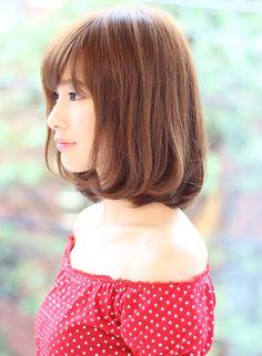 大人カワイイボブ(髪型ボブ)