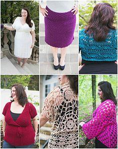 Ravelry: Curvy Crochet Volume 1 - Gorgeous Plus Size Crochet Patterns :)