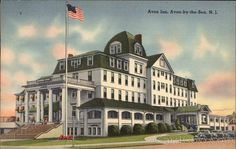 Welcome to Avon-by-the-Sea, The New Jersey Seashore Tradition Avon By The Sea, Beach Images, Old Antiques, Vintage Postcards, New Jersey, Taj Mahal, The Past, Traditional, Mansions
