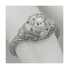 Antique Engagement Rings Edwardian 56