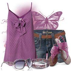 Purple Shorts Set :)