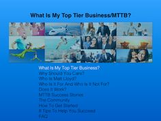 What Is My Top Tier Business/MTTB? (2017)   Have you recently heard about My Top Tier Business or MTTB?  Are you trying to decide if it is right for you?  Today, we will review My Top Tier Business/MTTB so you can make an informed decision about starting an online business.  But first...  Did you know?    28 million small
