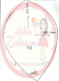 Atelier Zahoum: Molde Flor gingante de eva - modelo 4