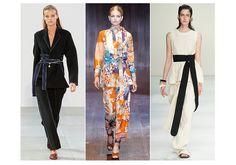 Kimonos chez Celine Gucci Marni