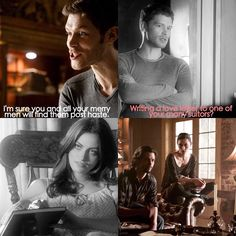 Klaus talking about Hayley's suitors