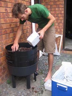 Wermikompostownik czyli hodowla dżdżownic | Uslugi ekosystemów
