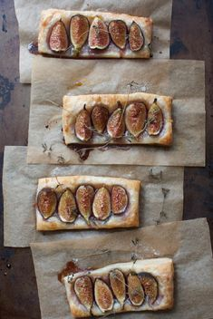 fig tarts with brown sugar mascarpone