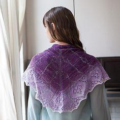 Lille sjal | Strikkeglad.dk