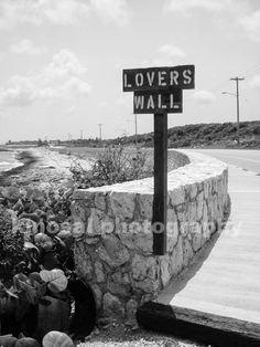 Lovers Wall Photograph  Grand Cayman Island  8x10 photo by kjnosal, $30.00 Lovers wall in Grand Cayman <3