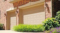 Beautify the exterior of your home with a elegant fiberglass garage door