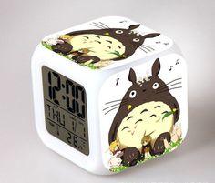 Totoro Anime Digital Alarm Clock