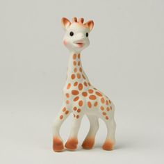 """The infamous """"Sophie the Giraffe"""" - a great teething toy for babies and it's super cute."""