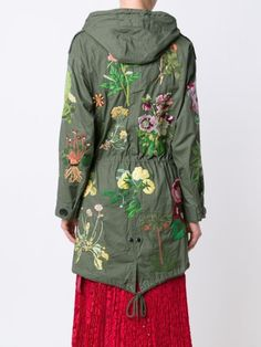 Creatures Of The Wind 'Jarde' hand embroidered parka