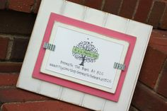 Picture Frame - Distressed Beadboard - Holds 4x6 Photo - White & Pink. $24.00, via Etsy.