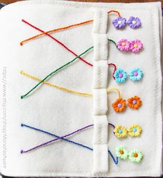 This listing is for one Pairing activity for Your Very Own Quiet Time Book project.  Find the right pair for each sewn on the page bead and thread it