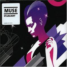 2006 Muse - Starlight (CD single) [Warner Bros 510116774-2] illustration by Jasper Goodall #albumcover
